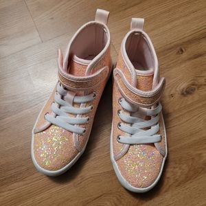 Sparkly High Top Shoe